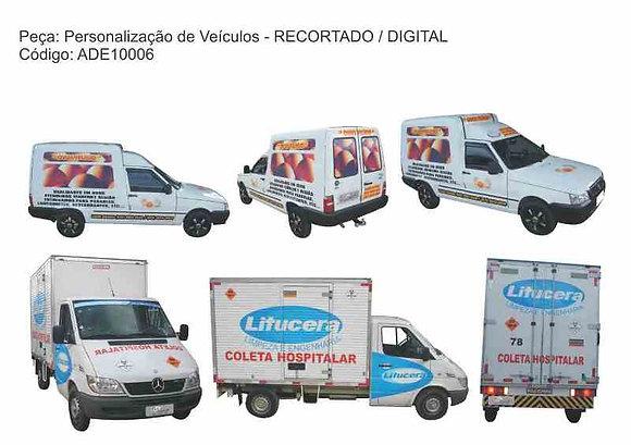 Personalização Veículos - RECORTADO DIGITAL