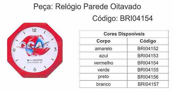 Relógio Parede Oitavado - BRI04152 à BRI04157