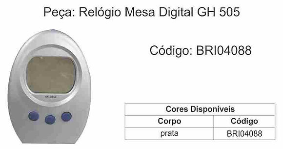 Relógio Digital de Mesa HG 505 - BRI04088