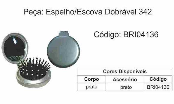 Espelho Escova Dobrável 342 - BRI04136