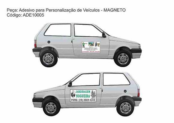 Adesivo veículos - MAGNETO - ADE10005