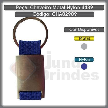 Chaveiro Metal Nylon