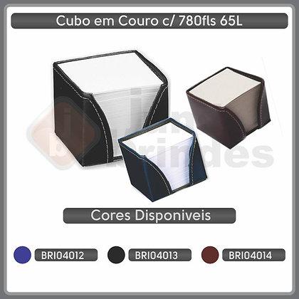 Cubo em couro com 750fls 65L