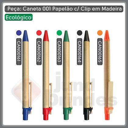 Caneta 001 Papelão (Ecológica)
