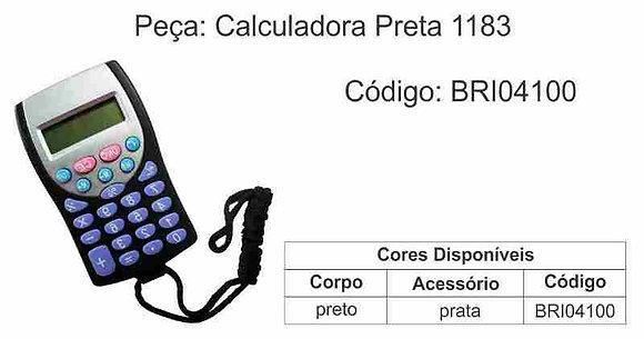 Calculadora Preta 1183 - BRI04100