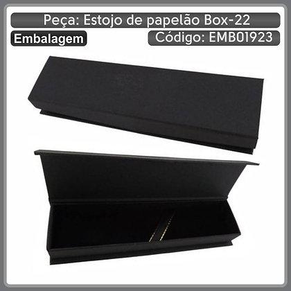 Estojo de papelão BOX-22