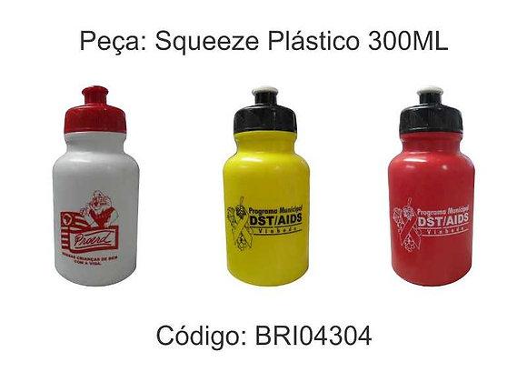 Squeeze Plástico 300ML - BRI04304