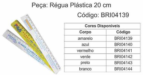 Régua Plástica 20cm - BRI04139 à BRI04144