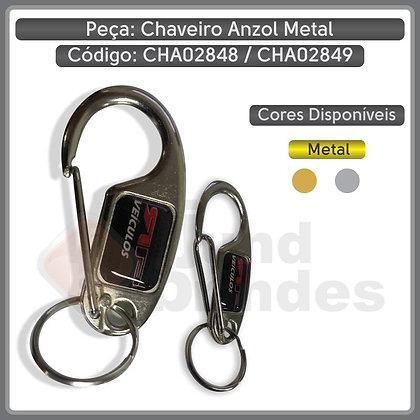 Chaveiro Anzol Metal