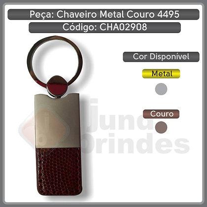 Chaveiro Metal Couro