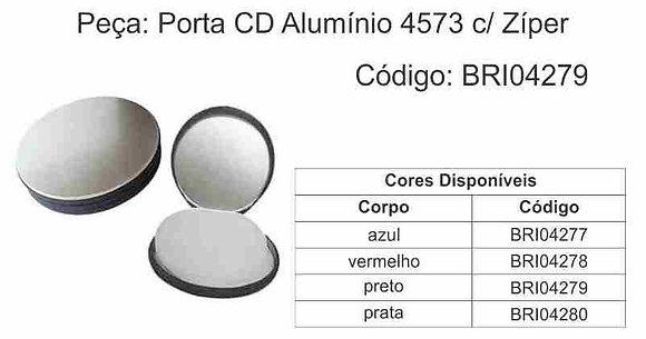 Porta CD alumínio 4573 Zíper - BRI04277 à BRI04280