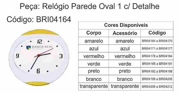 Relógio Parede Oval - BRI04164 à BRI04212
