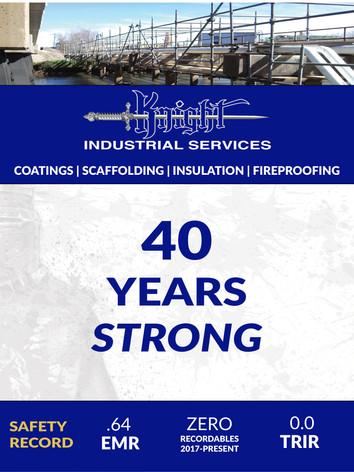 Knight 40 year Coating Society ad 2021.j