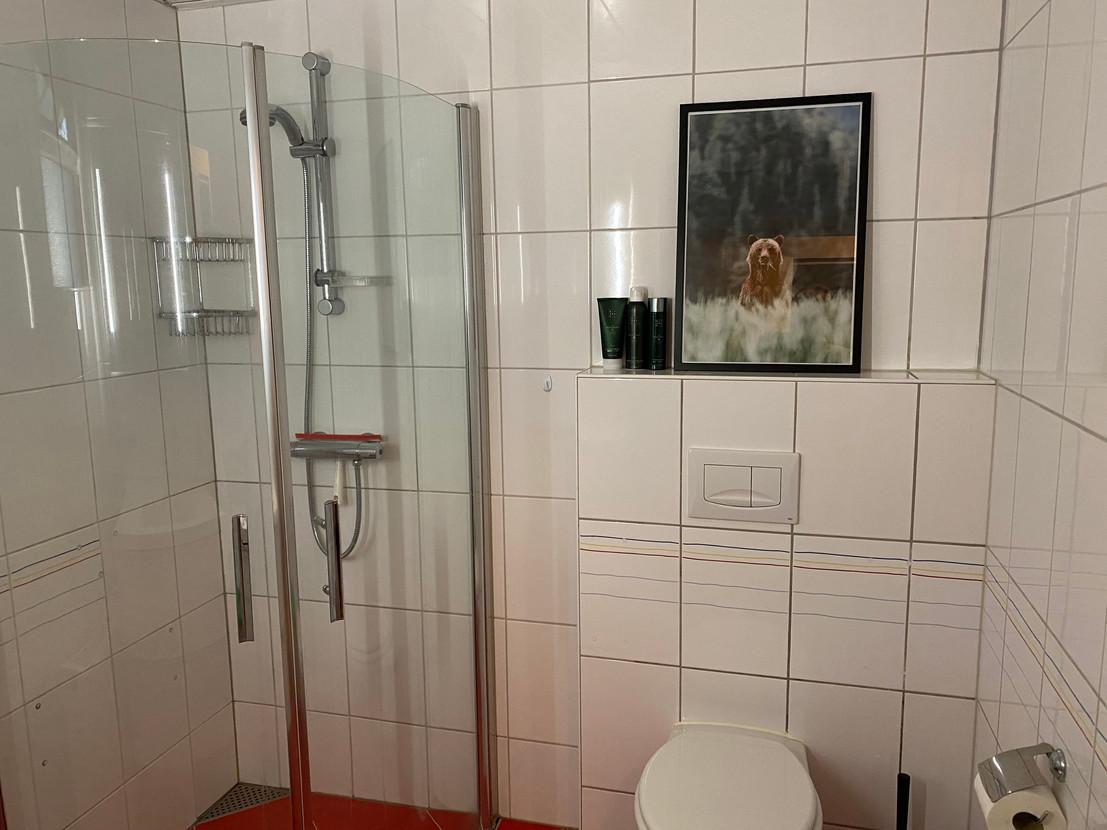 badkamer boshuisje Wateren