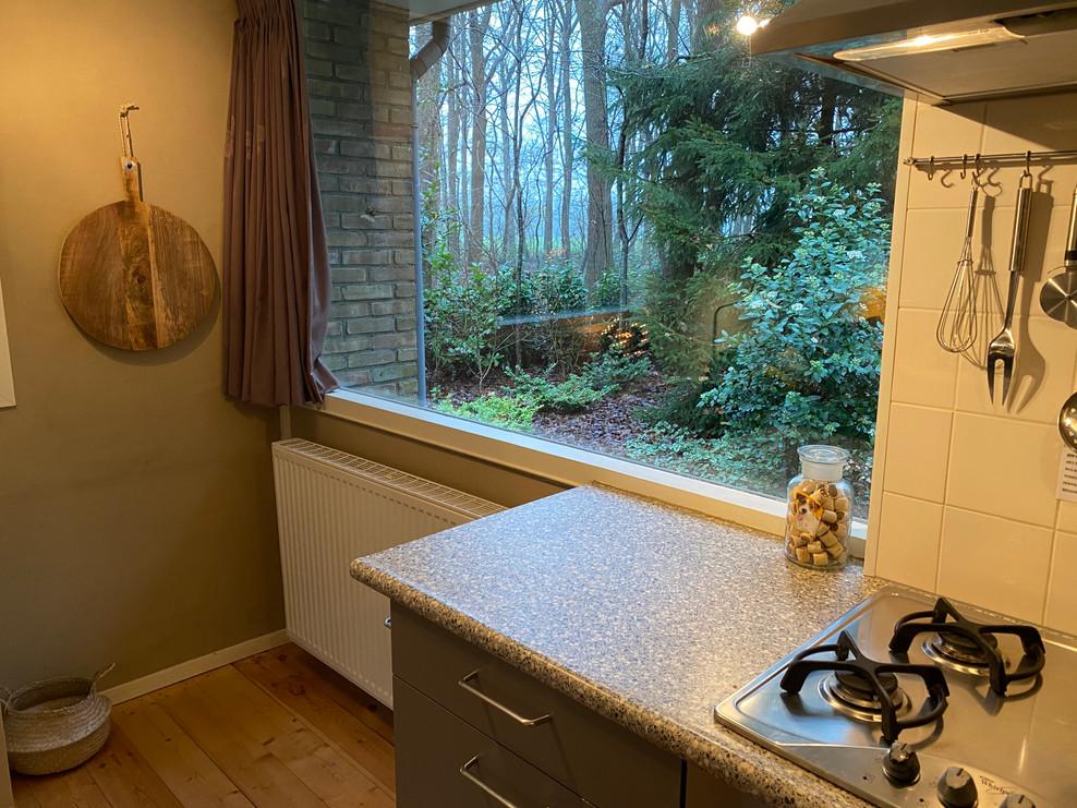 uitzicht keuken boshuisje Wateren.jpg