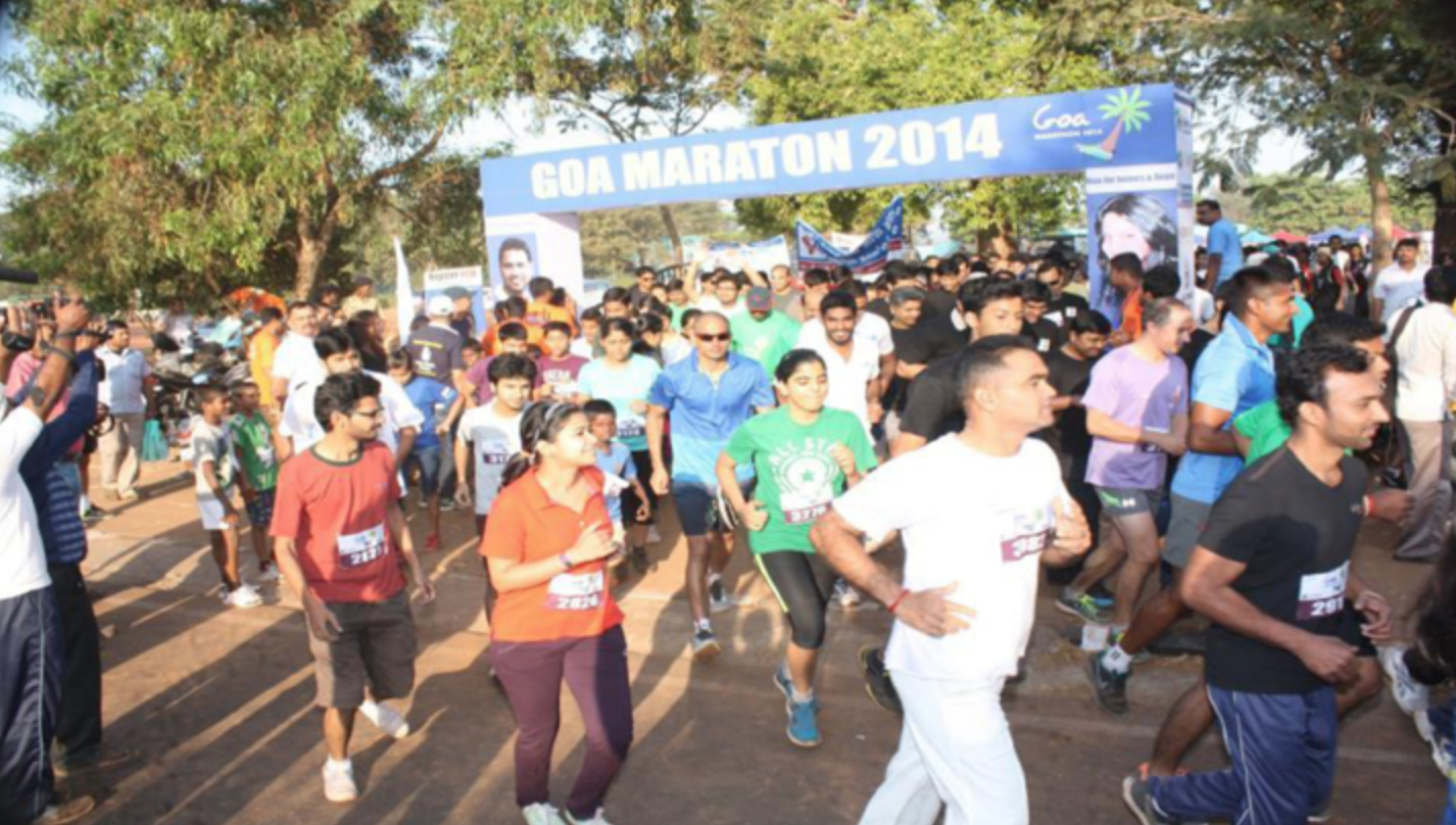 Goa Marathon 9th Feb, 2014