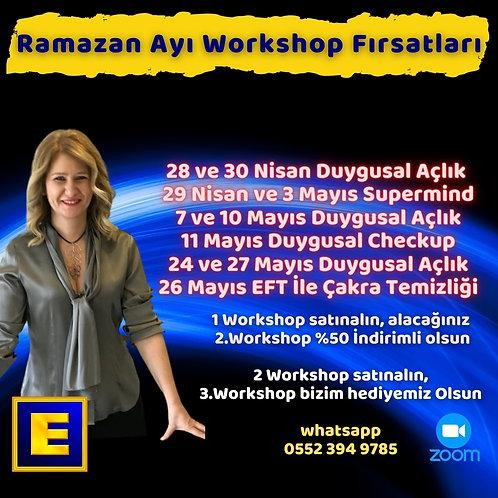 Ramazan Workshop Kampanyası