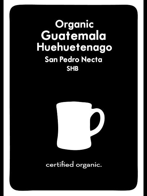 Organic Guatemala Huehuetenago