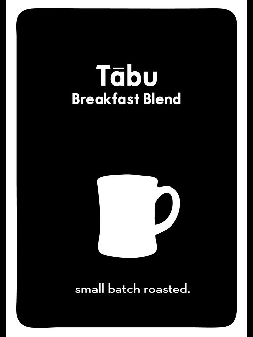 Tābu Breakfast Blend