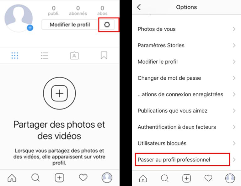 Comment ouvrir un compte instagram pro pour son restaurant
