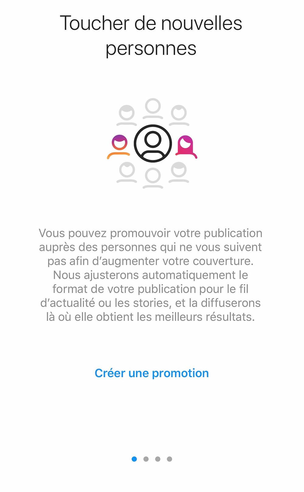 comment creer une publicité instagram restaurant