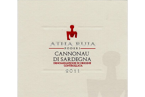Atha Ruja Cannonau di Sardegna