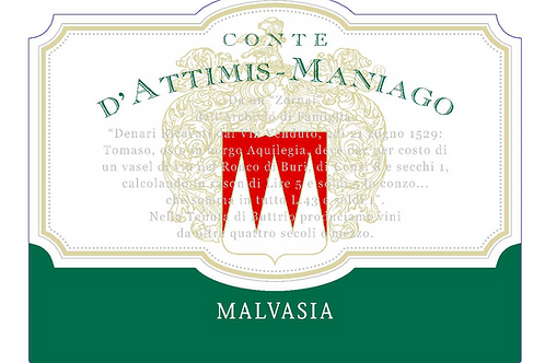 Conte d'Attimis Malvasia