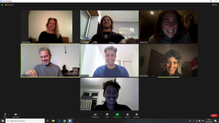 Space holding for online meetin