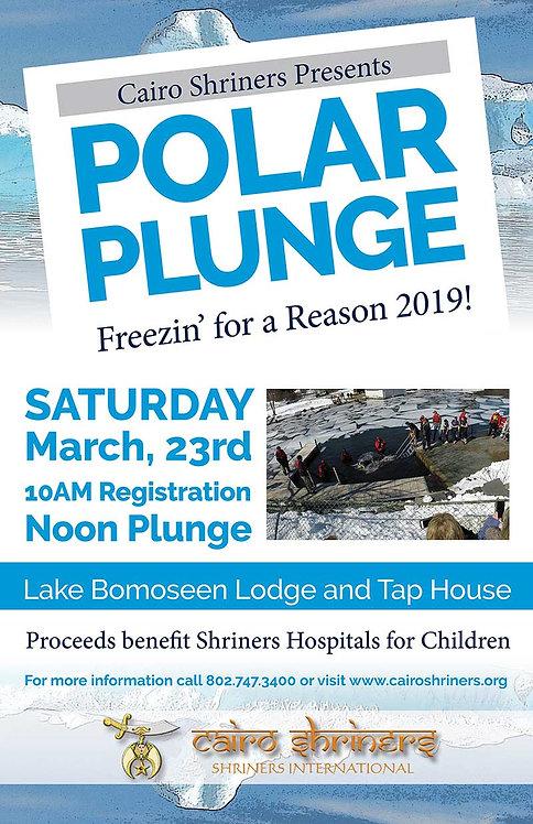 Register for the 2019 Polar Plunge
