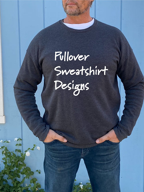 Pullover Sweatshirt Designs