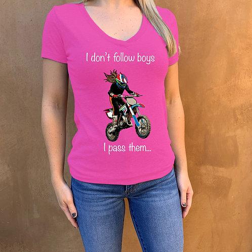 I don't follow boys