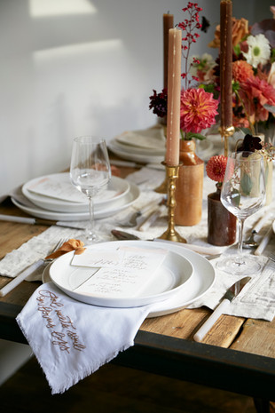 Table top styling