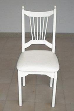 Cadeira em Madeira Estilo Pino Pérola
