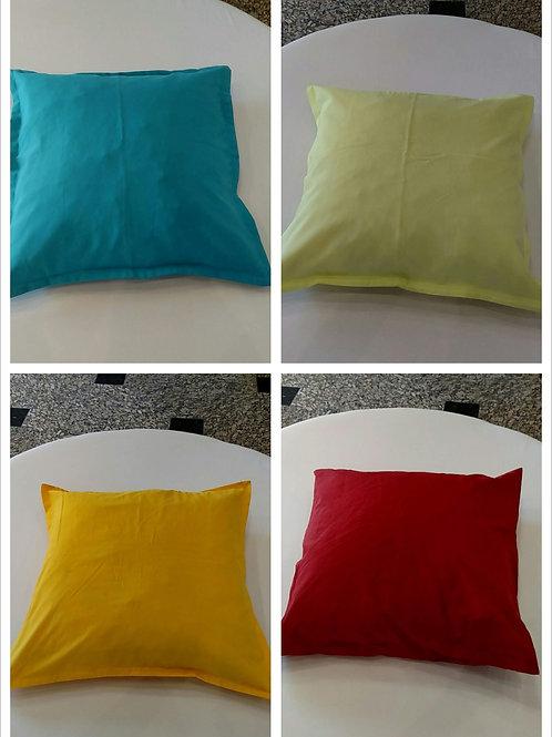 Almofadas de Tecido Liso