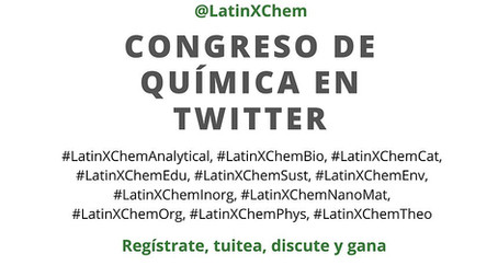 Get ready for LatinXChem, tomorrow, september the 7/2020 on Twitter.