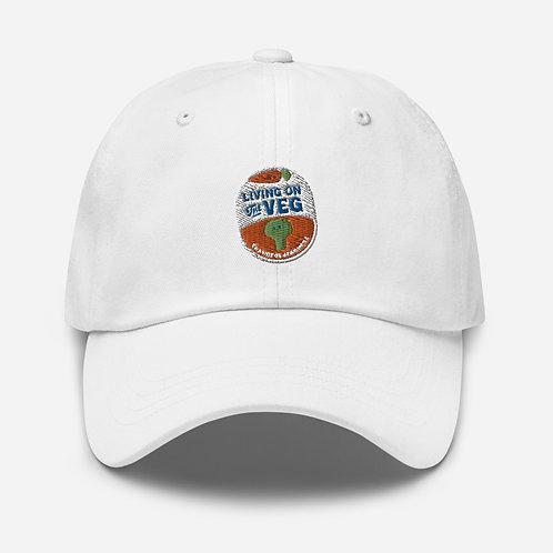 """""""Living on the Veg"""" baseball cap"""
