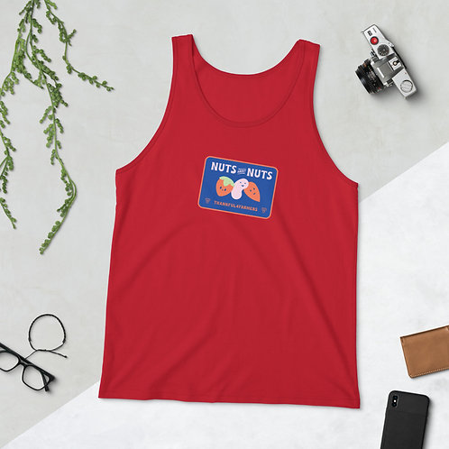 """Nuts about Nuts"" Unisex Singlet Tank Top"