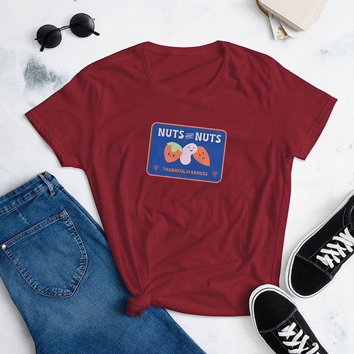 """""""Nuts about Nuts"""" Women's short sleeve t-shirt"""