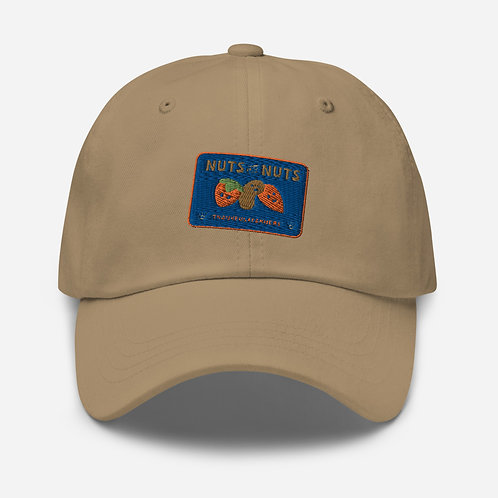 """""""Nuts about Nuts"""" baseball cap"""