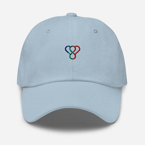 "Thankful ""Rainbow Logo"" Embroidered Unisex Cap"