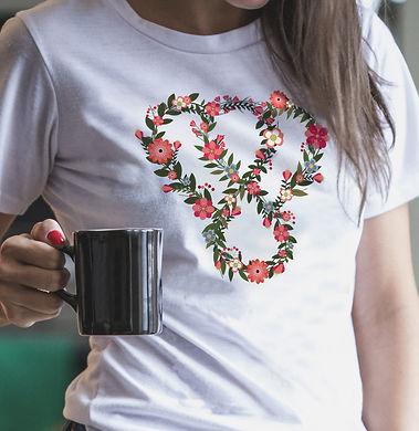 Thankful floral t-shirt