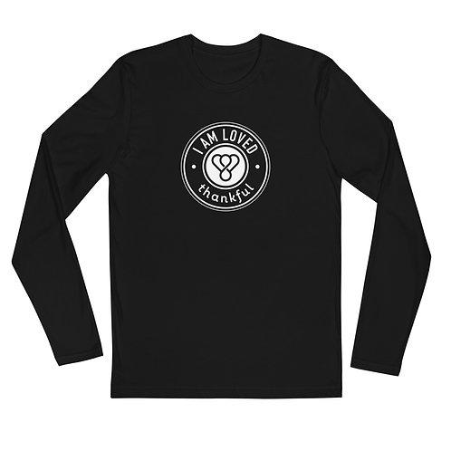 """I am Loved"" Seal Long Sleeve Men's Crew T-Shirt"