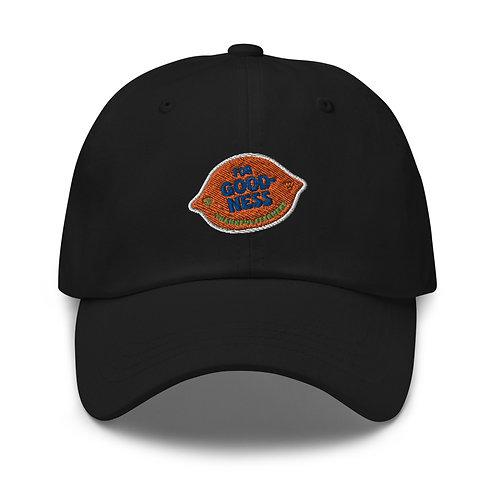 """""""For Goodness"""" baseball cap"""