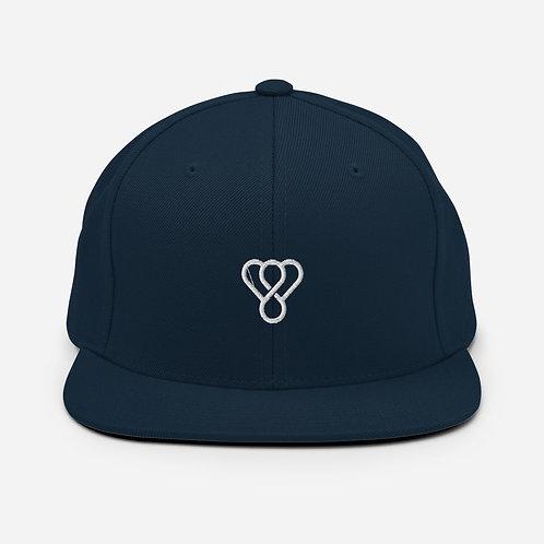 "Thankful ""White Logo"" Snapback Embroidered Hat"