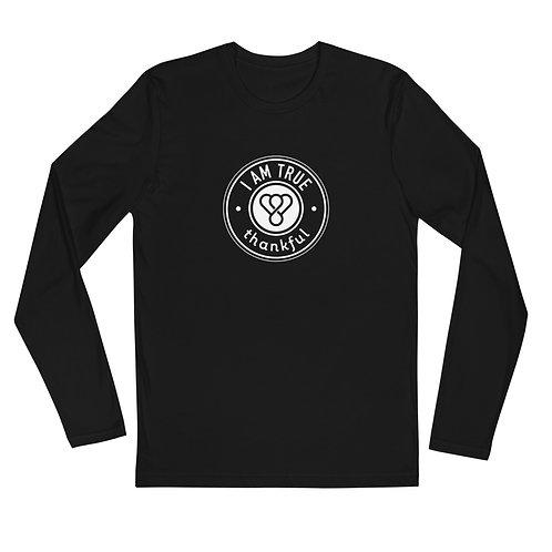 """I am True"" Seal Long Sleeve Men's Crew T-Shirt"