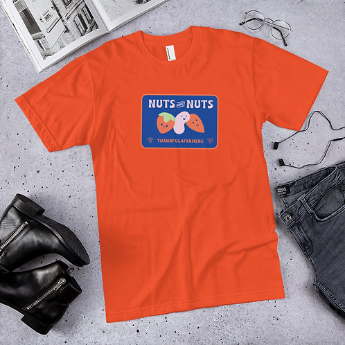 """Nuts about Nuts"" Men's Short sleeve T-Shirt"
