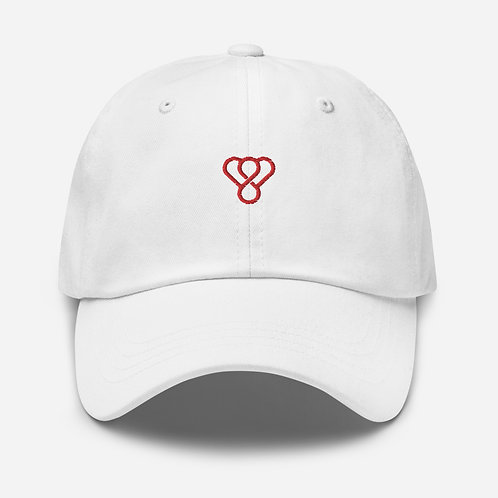 "Thankful ""Red Logo"" Embroidered Unisex Cap"