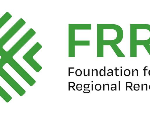 Thankful4Farmers Grant to Foundation for Rural Regional Renewal (FRRR)