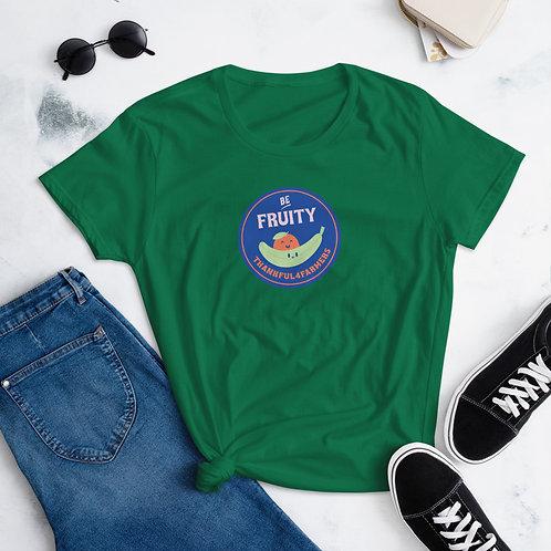 """""""Be fruity"""" Women's short sleeve t-shirt"""