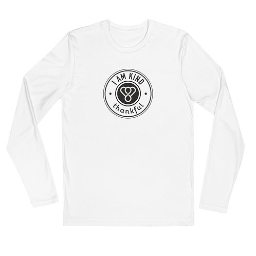 """I am Kind"" Seal Long Sleeve Men's Crew T-Shirt"
